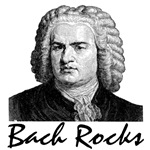 Bach Rocks t-shirts and gifts.