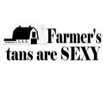 Farmer's tans are sexy t-shirts and gifts.