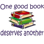 One good book deserves another t-shirts and gifts.