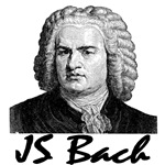JS Bach T-shirts and Gifts
