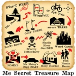 ME SECRET TREASURE MAP