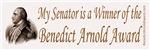 The Benedict Arnold Award