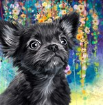 Chihuahua Painting