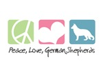 Peace, Love, German Shepherds