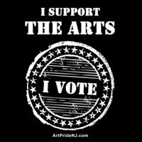 I Support the Arts - I Vote