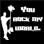 You Rock my World! Cameraman Gifts