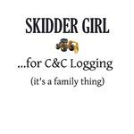 Skidder Girl