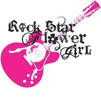 Rock Star Flower Girl