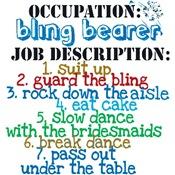 Occupation: Bling Bearer