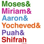 Passover Heroes Names