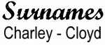 Vintage Surname - Charley - Cloyd