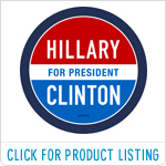 Hillary for President - Round Classic