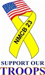 Support Our Troops NMCB 23