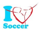 I Love Soccer Design