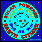 SOLAR POWERED - EARTH CITIZEN
