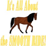 G Horse About the SMOOTH RIDE!