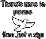 There's More to Peace than Just a Sign