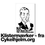 Klistermaerker fra Cykelhjelm.org