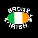 Bronx Irish on dark apparel