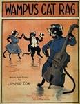 Wampus Cat Rag, Vintage Poster