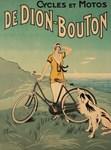 Bicycle, Woman, Dog