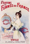 Perfume, French, Vintage Poster