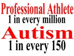 Professional Athlete (1 in a Million) Autism (1 in