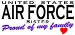 Proud United States Air Force Sister