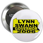 Lynn Swann For Governor Buttons