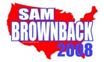 Elect Sam Brownback 2008 T-shirts & Gifts