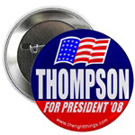 Fred Thompson for President Buttons/Magnets