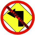 No Left Turns T-shirts & Gear