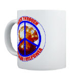 Peace Through Superior Firepower Mugs
