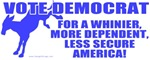 Vote Democrat Satire T-shirts & Gifts