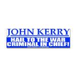 Anti-John Kerry Bumper Stickers