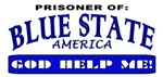 Blue State Prisoner T-shirts and Apparel