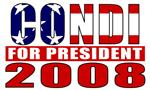 Condi Rice for President 2008 T-shirts &  Gifts