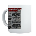 Liberal Commandments Conservative Mugs