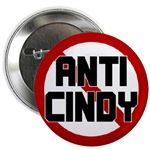 Anti Cindy Sheehan Buttons & Magnets