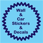 Wall and Car stickers
