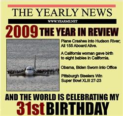 31 birthday