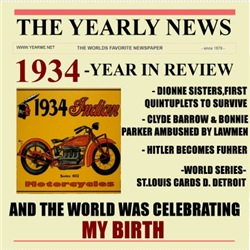 born in 1934 birthday gift