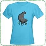Swimming Manatee T-Shirts and Gifts