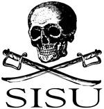 Sisu skull and crossbones