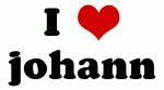 I Love johann