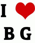 I Love B G