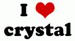 I Love crystal