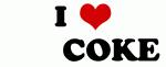 I Love         COKE