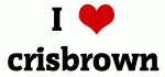 I Love crisbrown