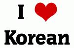 I Love Korean